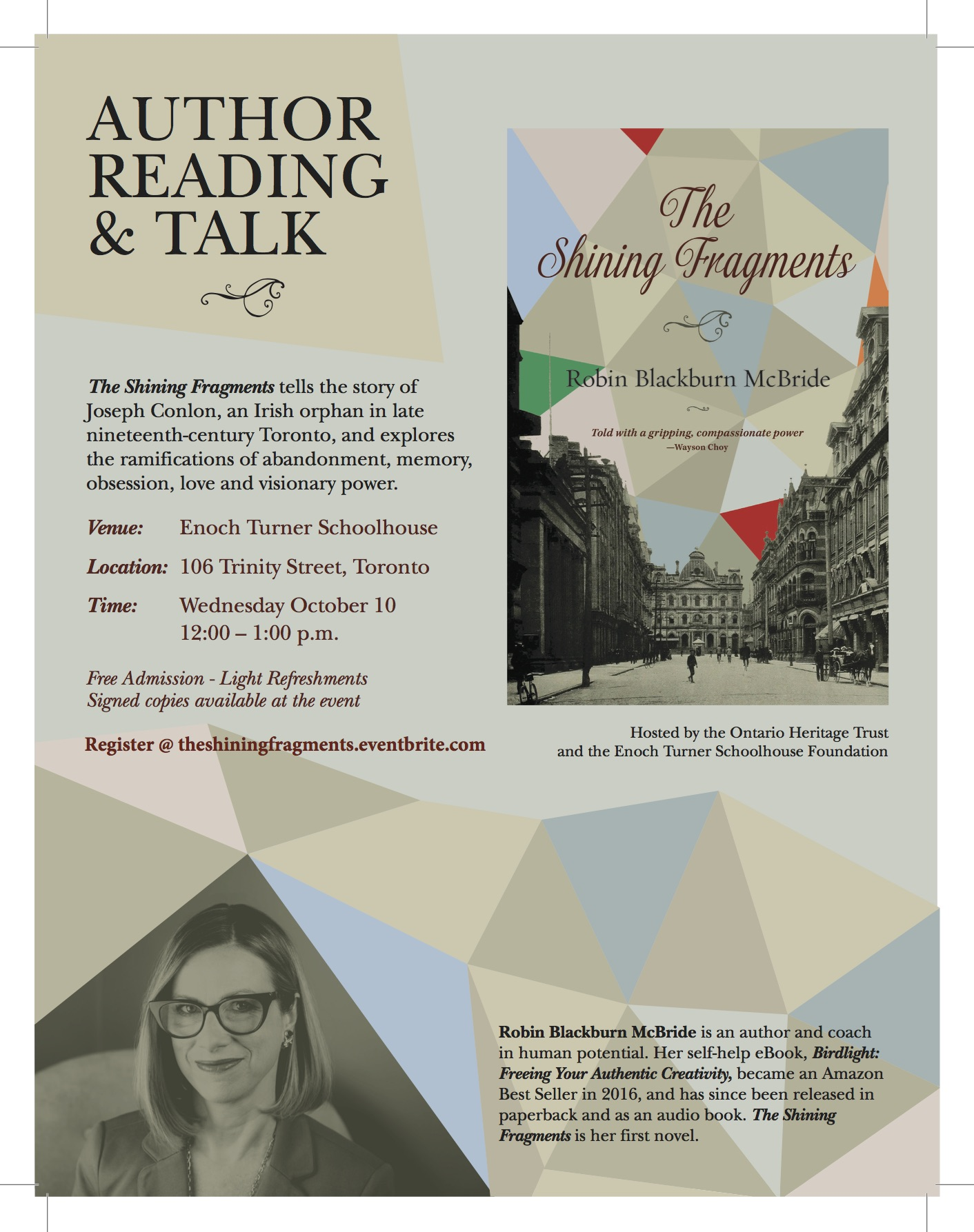 Author Reading & Talk: The Shining Fragments by Robin ...